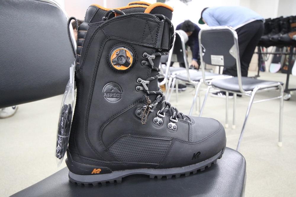 K2 SNOWBOARDING BOOTS [ ASPECT @64800] ケイツー ブーツ 【正規代理店商品】【送料無料】【 スノボ 用品
