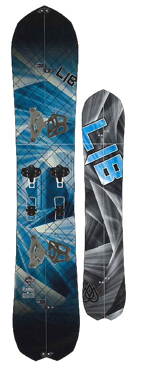 LIBTECH SNOWBOARDS [ T.RICE GOLD MEMBER SPLIT @151200] リブテック スノーボード 【正規代理店商品】【