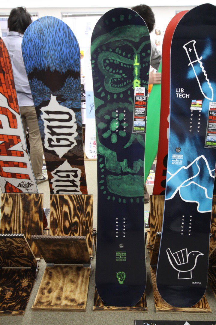 LIBTECH SNOWBOARDS [ THE WORLD'S GREENEST BOARD @95040] リブテック スノーボード 【正規代理店商品】【