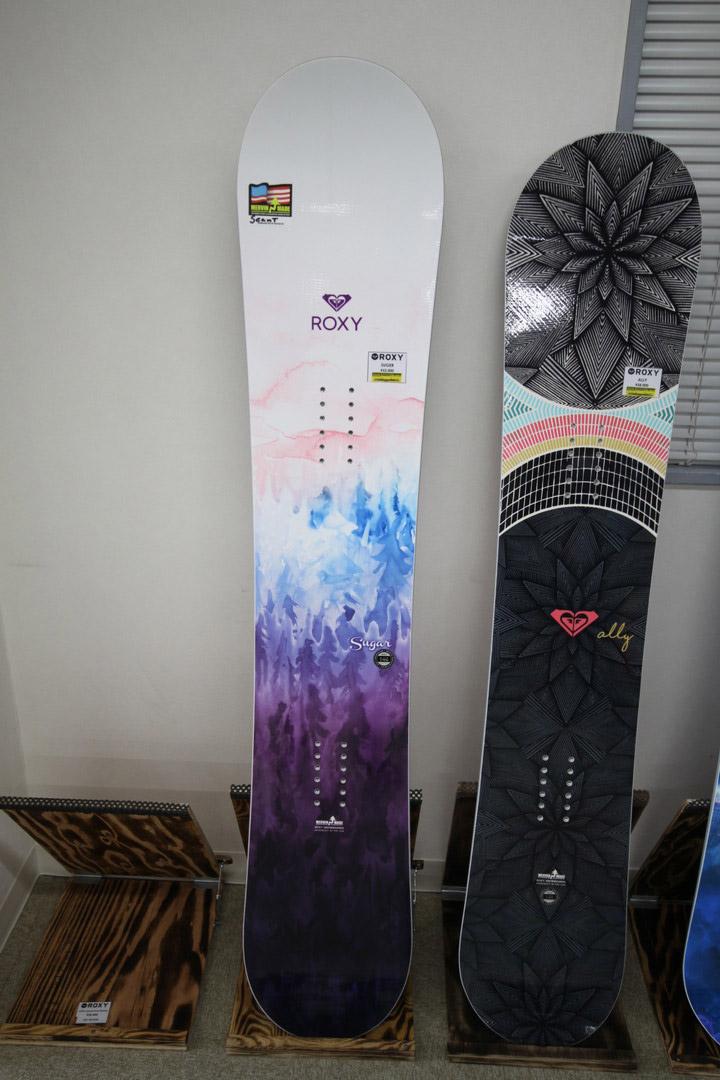ROXY SNOWBOARDS [ SUGAR @56160] ロキシー スノーボード 【正規代理店商品】【送料無料】