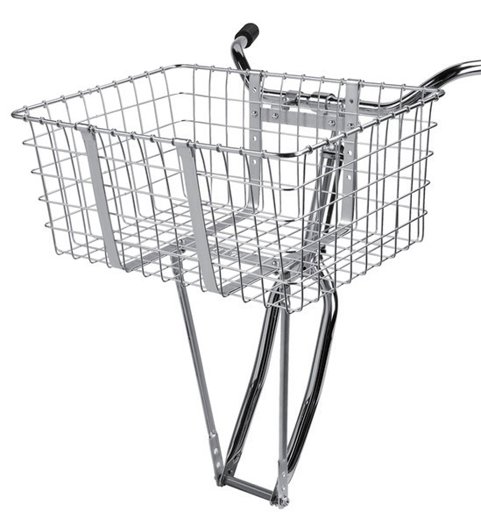 【 WALD/ウォルド 157 Giant Delivery Basket SV@10584 】 silver 自転車 サイクル バスケット カゴ