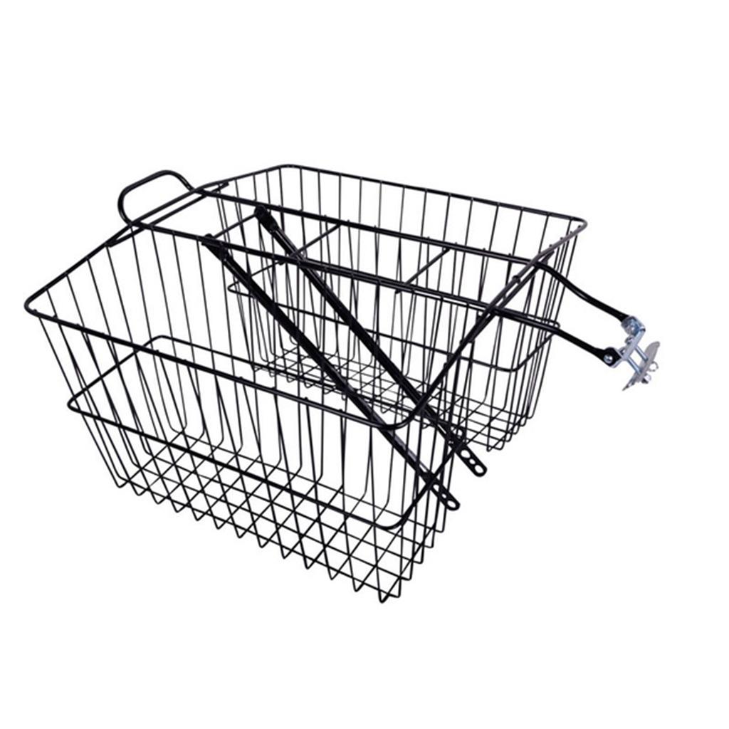 【別倉庫からの配送】 【 自転車 WALD/ウォルド カゴ 535 Twin Rear Carrier Basket バスケット BK@11880】 black バスケット カゴ リアキャリア 自転車, ホロイズミグン:d9d70cf8 --- clftranspo.dominiotemporario.com