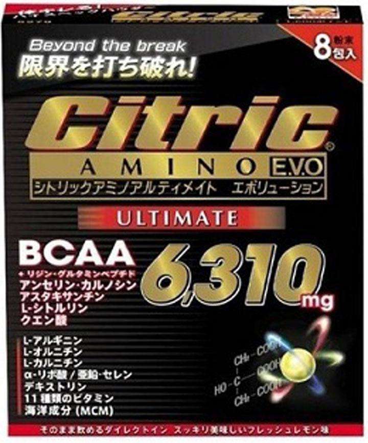 12個入り シトリック アミノ サプリ [ アルティメイトC+ 6g×8包 ] メダリスト Medalist Citric
