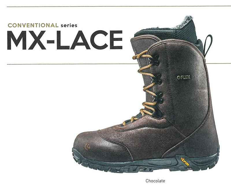 【在庫限最終特価】 FLUX BOOTS [ MX-LACE @51840 ] フラックス ブーツ 安心の正規品