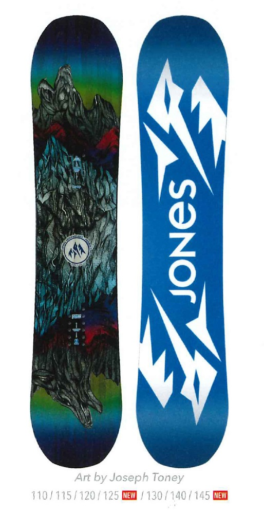 JONES SNOWBOARDS [ K'S PRODIGY @49680] ジョーンズ スノーボード 安心の正規輸入品 【送料無料】120000