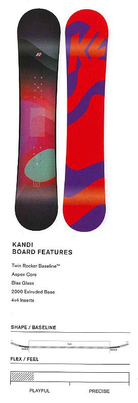 【最終セール】 K2 SNOWBOARDING [ KANDI @45360] ケイツー ジュニア スノーボード 【正規代理店商品】【送料無料】【 スノボ 用品】