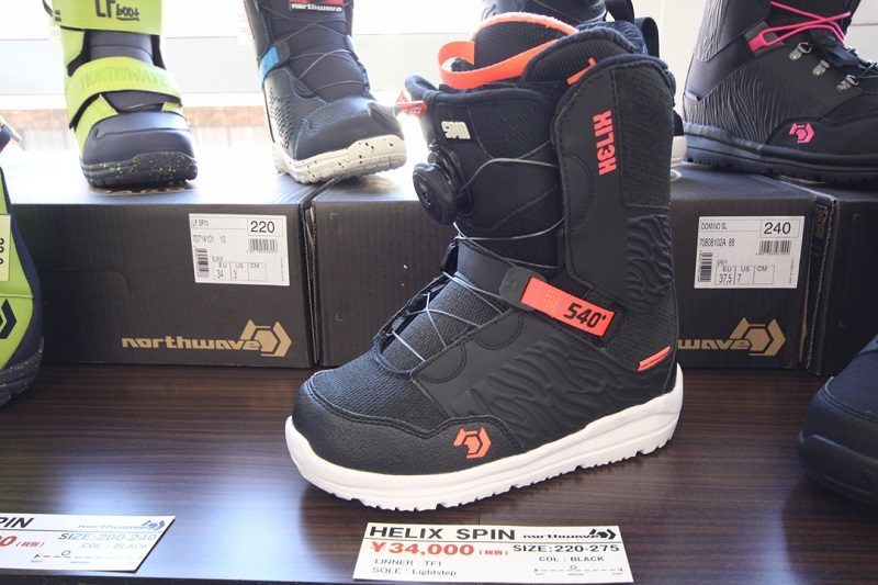 NORTHWAVE SNOWBOARD BOOTS [ HELIX SPIN ASIAN FIT @36720 ] ノースウェーブ ウーメンズ 【正規代理店商品】【送料無料】