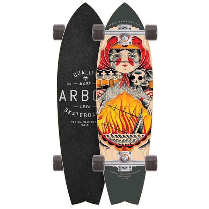ARBOR SKATEBOARDS [ SIZZLER ltd @31320] アーバー スケートボード コンプリート【正規品】