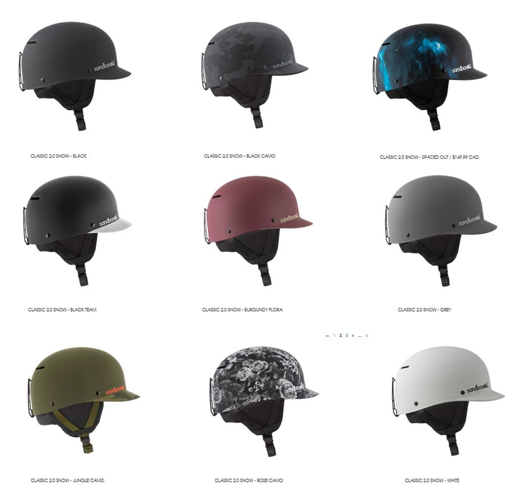 sand box HELMET [ CLASSIC 2.0 SNOW ASIAN FIT @18360] サンドボックス スノー ヘルメット
