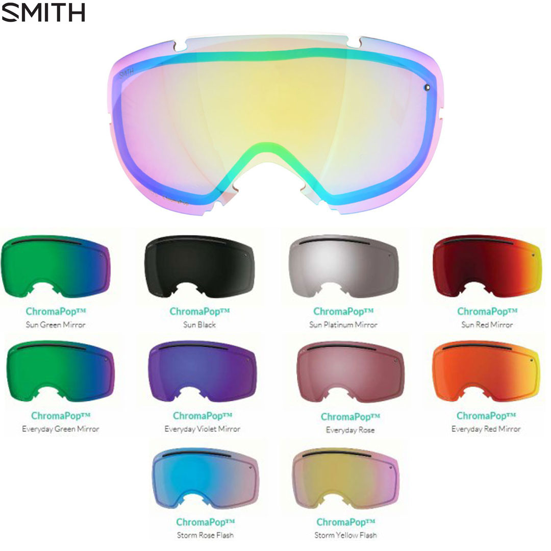 SMITH SNOW GOGGLE 交換レンズ [ I/OX @22680 ] スミス ゴーグル【送料無料】