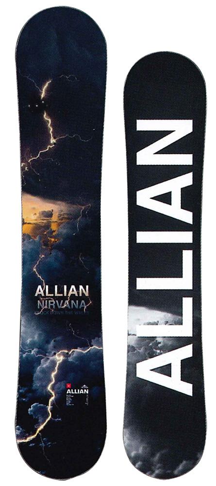 ALLIAN SNOWBOARD 【 NIRVANA @70000】 アライアン スノーボード 【正規代理店商品】【送料無料】