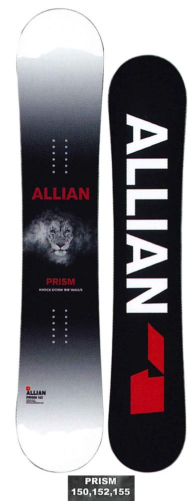 ALLIAN SNOWBOARD 【 PRISM LTD @75000】 アライアン スノーボード 【正規代理店商品】【送料無料】