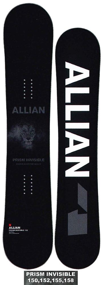 ALLIAN SNOWBOARD 【 PRISM & PRISM INVISIBLE @75000】 アライアン スノーボード 【正規代理店商品】【送料無料】