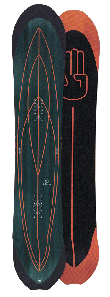 BATALEON SNOWBOARDS [ OMNI @79000] バタレオン スノーボード 【正規代理店商品】【送料無料】