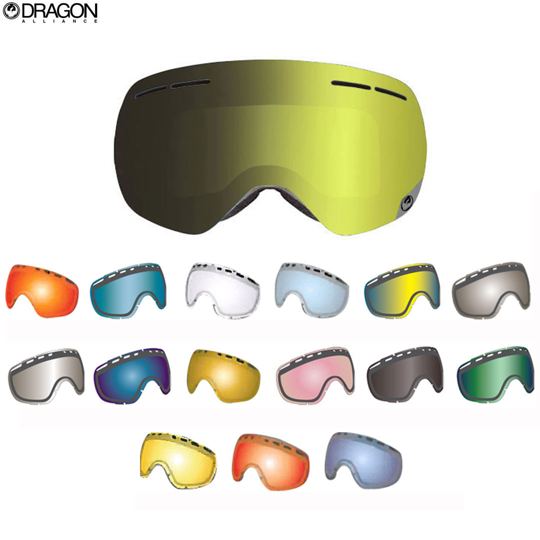 DRAGON SNOW GOGGLE 交換レンズ [ NFXS #7700 ] ドラゴン ゴーグル 安心の正規輸入品