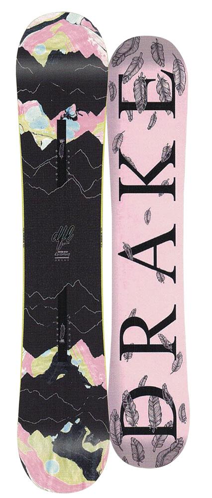DRAKE SNOWBOARDS [ DFL @67000] ドレイク ウーメンズ スノーボード 【正規代理店商品】【送料無料】
