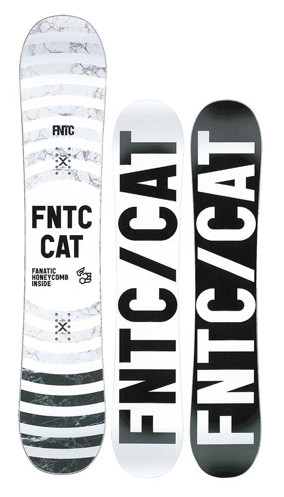FNTC SNOWBOARDS [ CAT @76000 ] スノーボード 【正規代理店商品】【送料無料】