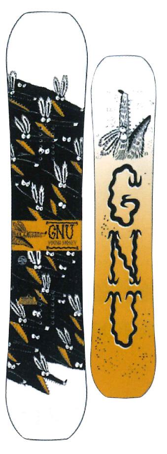 GNU [ YOUNG MONEY @45000] グヌー スノーボード 【正規代理店商品】 【送料無料】