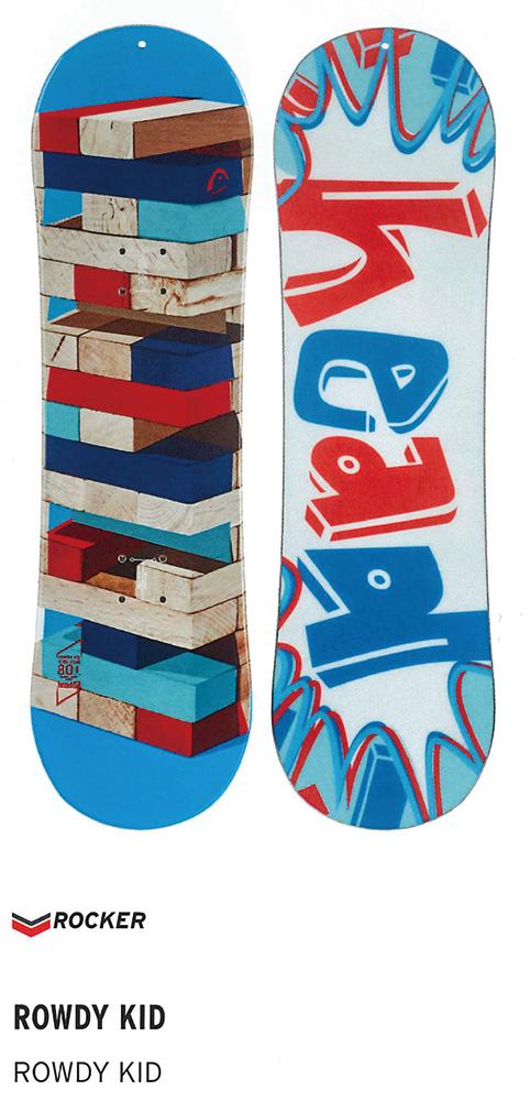 HEAD SNOWBOARDS [ ROWDY KID @31000 ] ヘッド キッズ スノーボード 安心の正規輸入品【送料無料】