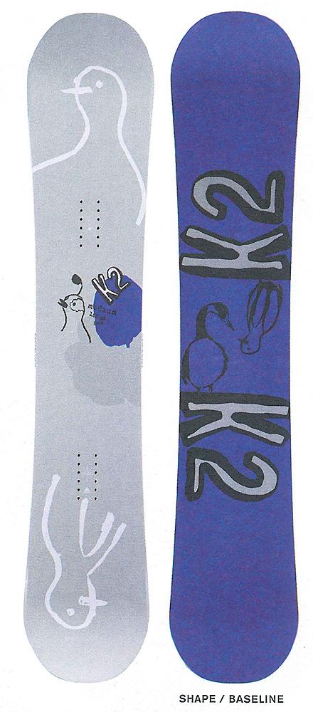 K2 SNOWBOARDING [ MIDIUM & MIDIUM WIDE @67000] ケイツー スノーボード 【正規代理店商品】【送料無料】【 スノボ 用品】