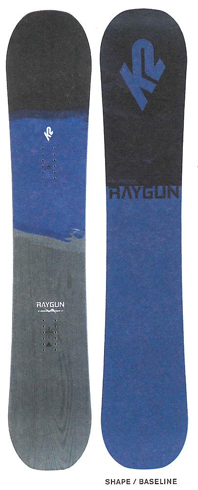 K2 SNOWBOARDING [ RAYGUN & RAYGUN WIDE @58000] ケイツー スノーボード 【正規代理店商品】【送料無料】【 スノボ 用品】