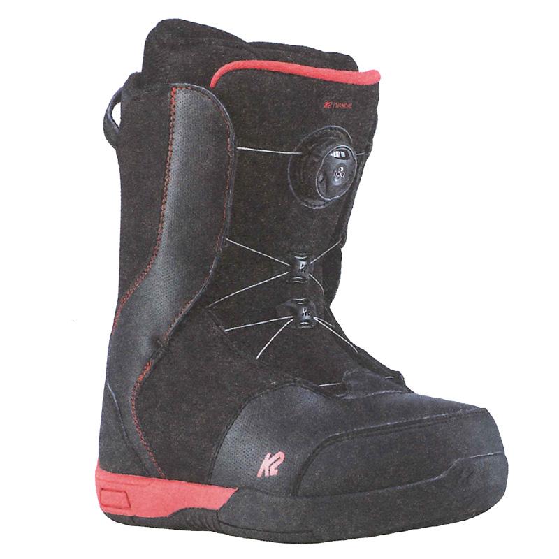 K2 SNOWBOARDING BOOTS [ VANDAL BLACK @28000] ケイツー ジュニア ブーツ 【正規代理店商品】【送料無料】【 スノボ 用品】