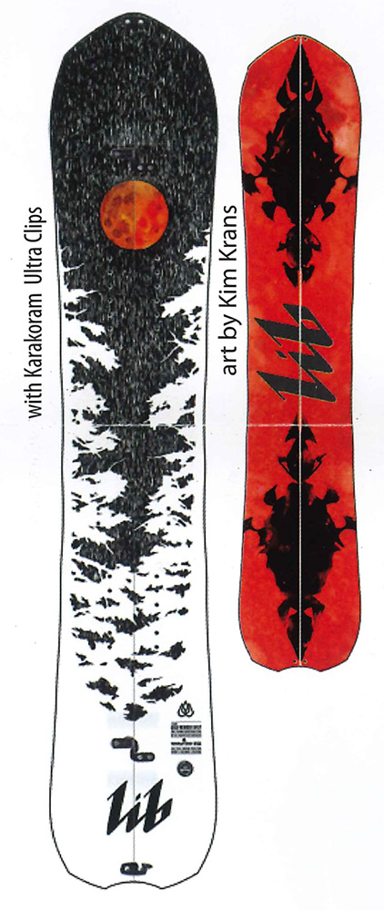LIBTECH SNOWBOARDS [ T.RICE GOLD MEMBER SPLIT @140000] リブテック スノーボード 【正規代理店商品】【送料無料】