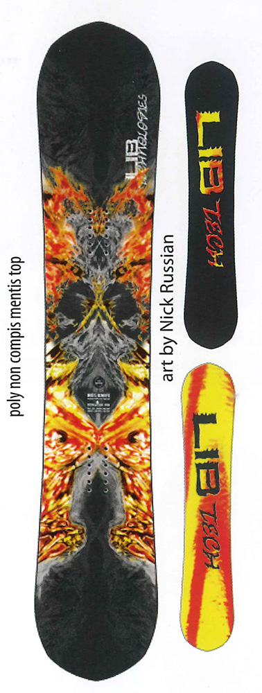 LIBTECH SNOWBOARDS [ HOT KNIFE @75000] リブテック スノーボード 【正規代理店商品】【送料無料】