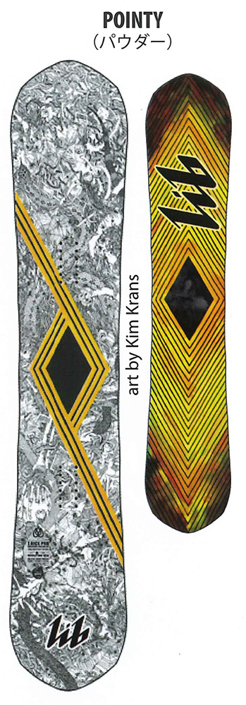 LIBTECH SNOWBOARDS [ T.RICE PRO POINTY @88000] リブテック スノーボード 【正規代理店商品】【送料無料】