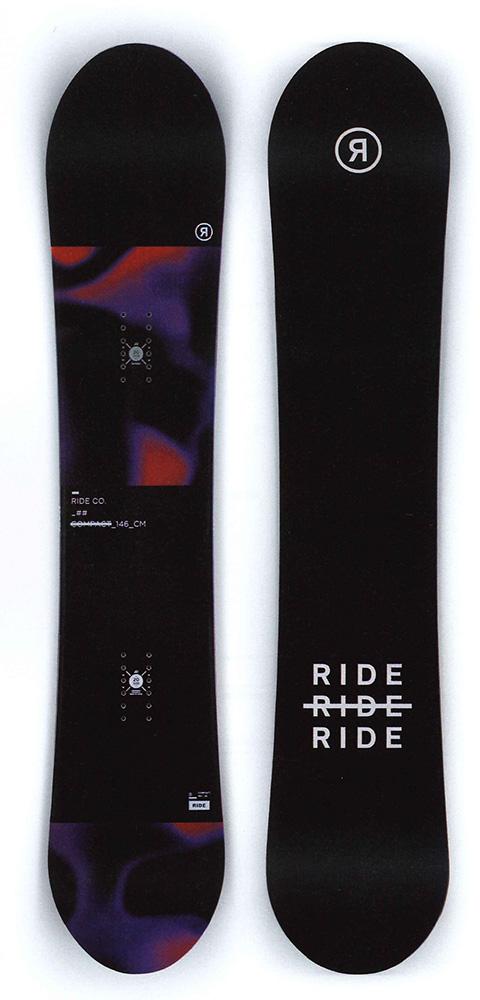 RIDE SNOWBOARS [ COMPACT @59000] ライド ウーメンズスノーボード 【正規代理店商品】【 スノボ 用品】【送料無料】