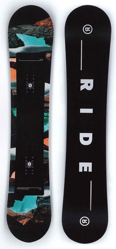 RIDE SNOWBOARS [ HEARTBREAKER @50000] ライド ウーメンズスノーボード 【正規代理店商品】【 スノボ 用品】【送料無料】