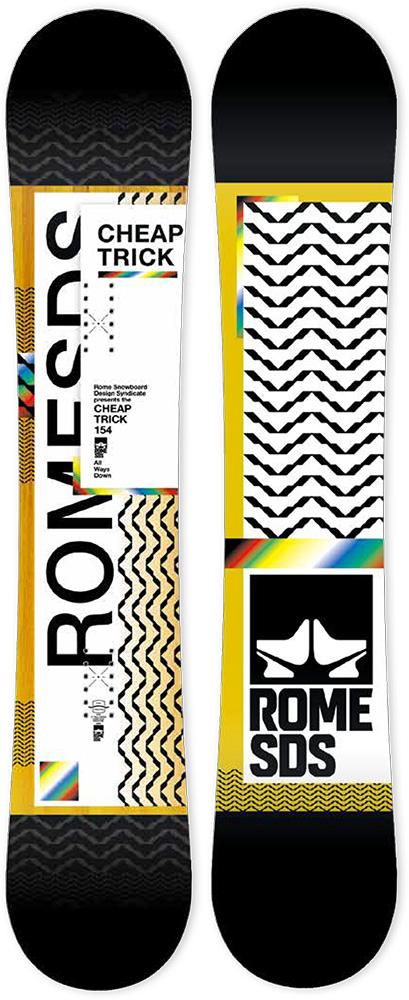 ROME SNOWBOARDS [ CHEAPTRICK @56000 ] ローム スノーボード 安心の正規輸入品 【送料無料】