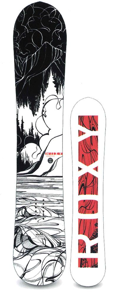 ROXY SNOWBOARDS [ SMOOTHIE @68000 ロキシー スノーボード 【正規代理店商品】【送料無料】