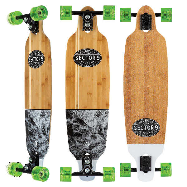 SECTOR 9 SKATEBOARD [ MONSOON SHOOTS @40000] SECTORNINE セクターナイン 【正規代理店商品】