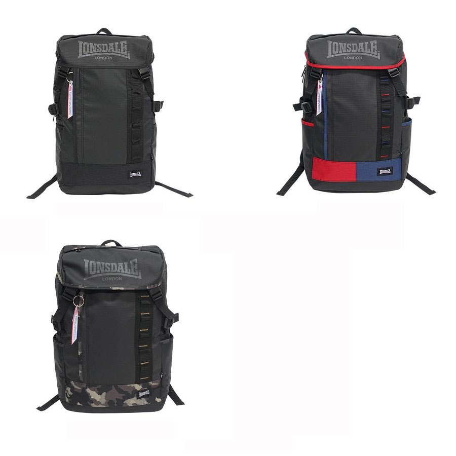 LONSDALE FLAP DAY PACK 20539001[ ロンズデール カーボンコート フラップデイパック@7900]