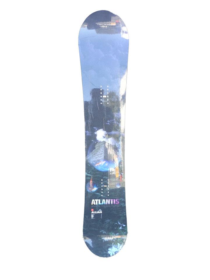 数量限定スタッフ試乗ボード ALLIAN SNOWBOARD [ ATLANTIS @66000] アライアンスノーボード 【チューンナップ付】