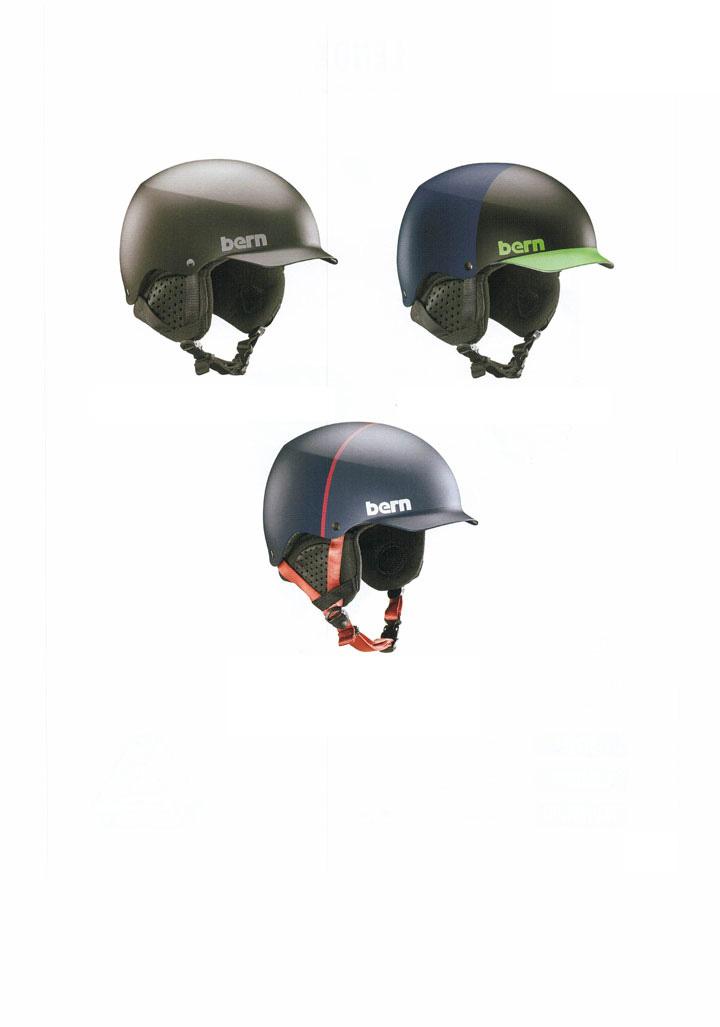 bern ( バーン ) ヘルメット [ BAKER WINTER HELMET @19980] ウインターライン 【正規代理店商品】