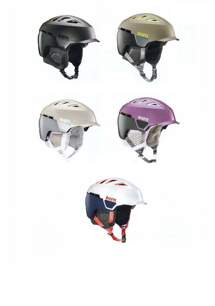 bern ( バーン ) ヘルメット [ HEIST BRIM WINTER HELMET @24840] ウインターライン 【正規代理店商品】