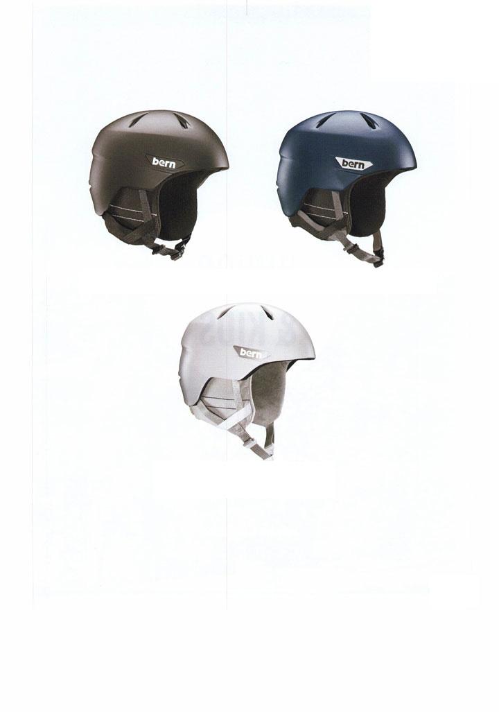 bern ( バーン ) ヘルメット [ WESTON WINTER HELMET @15120] ウインターライン 【正規代理店商品】