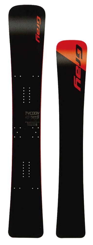 GRAY SNOWBOARDS [ TYCOON Type S 163/178cm @162000] グレイ スノーボード 安心の正規品【送料無料】