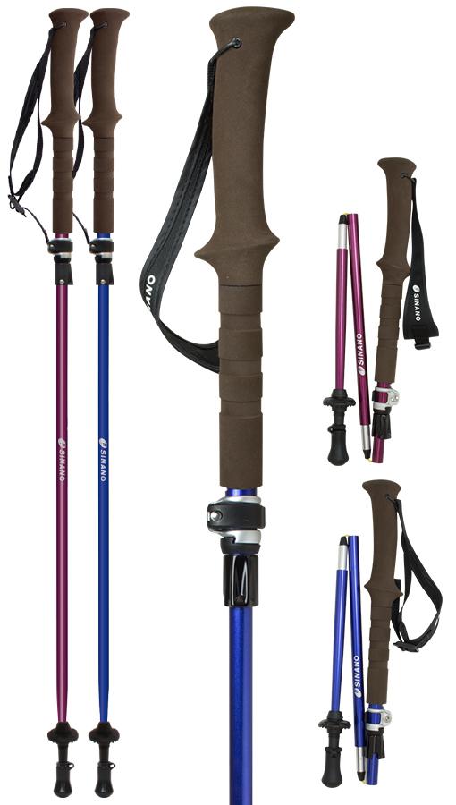 sinano Trekking poles [ フォールダー TWIST 115 @19500】 Folder シナノ トレッキングポール
