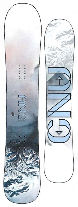 GNU [ WHIP @74000] グヌー ガールズ スノーボード 【正規代理店商品】 【送料無料】