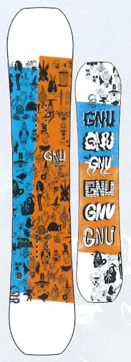 GNU [ YOUNG MONEY @48000] グヌー スノーボード 【正規代理店商品】 【送料無料】