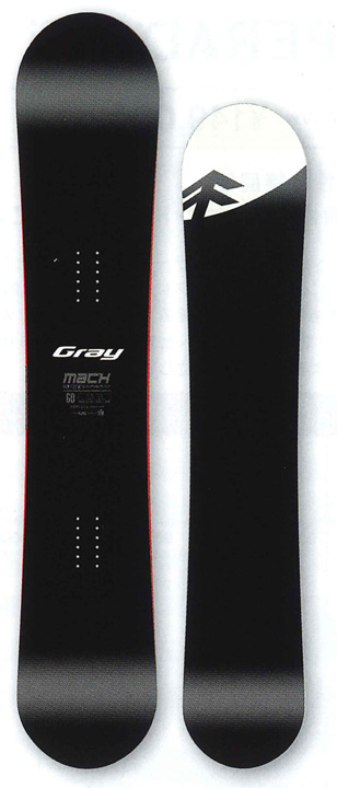 GRAY SNOWBOARDS [ MACH @119000] グレイ スノーボード【正規代理店商品】【送料無料】