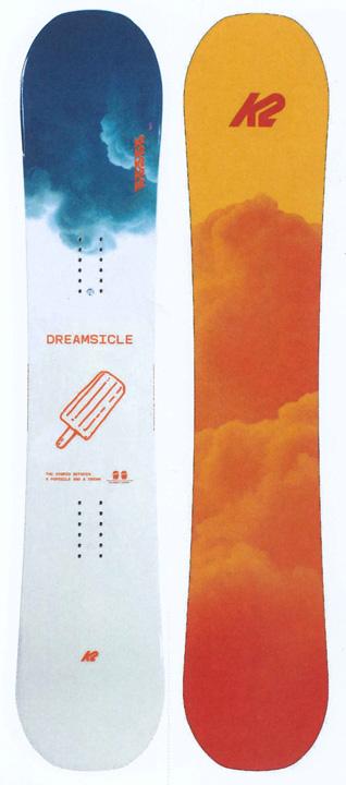 K2 SNOWBOARDING [ DREAMSICLE @58000] ケイツー ウーメンズ スノーボード 【正規代理店商品】【送料無料】【 スノボ 用品】