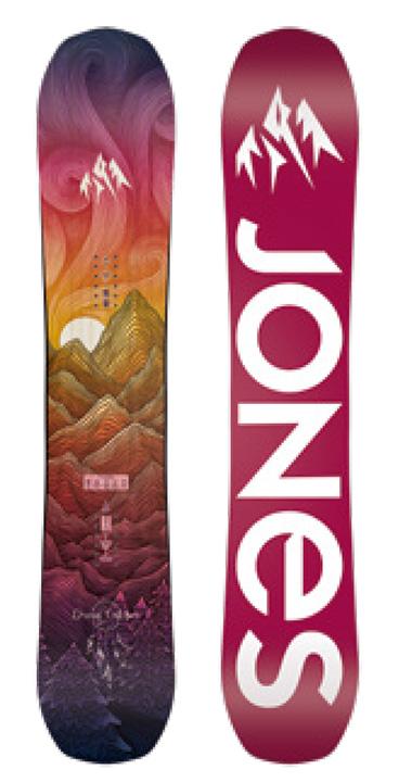 JONES SNOWBOARDS [ W'S DREAM CATCHER @72000] ジョーンズ ウィメンズ スノーボード 【正規代理店商品】【送料無料】