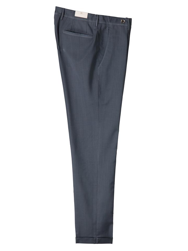 ジーティーアー GTA メンズ バイロン ストレッチサマーウールワンプリーツクロップドパンツ BAYRON-171/51000 BAYRON
