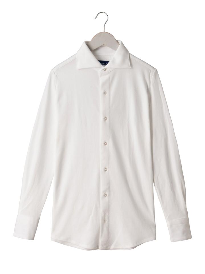【お買い物マラソンポイント5倍】 ティモーネ Timone メンズ スマイルコットンPLUSドレスニットシャツ KT051730