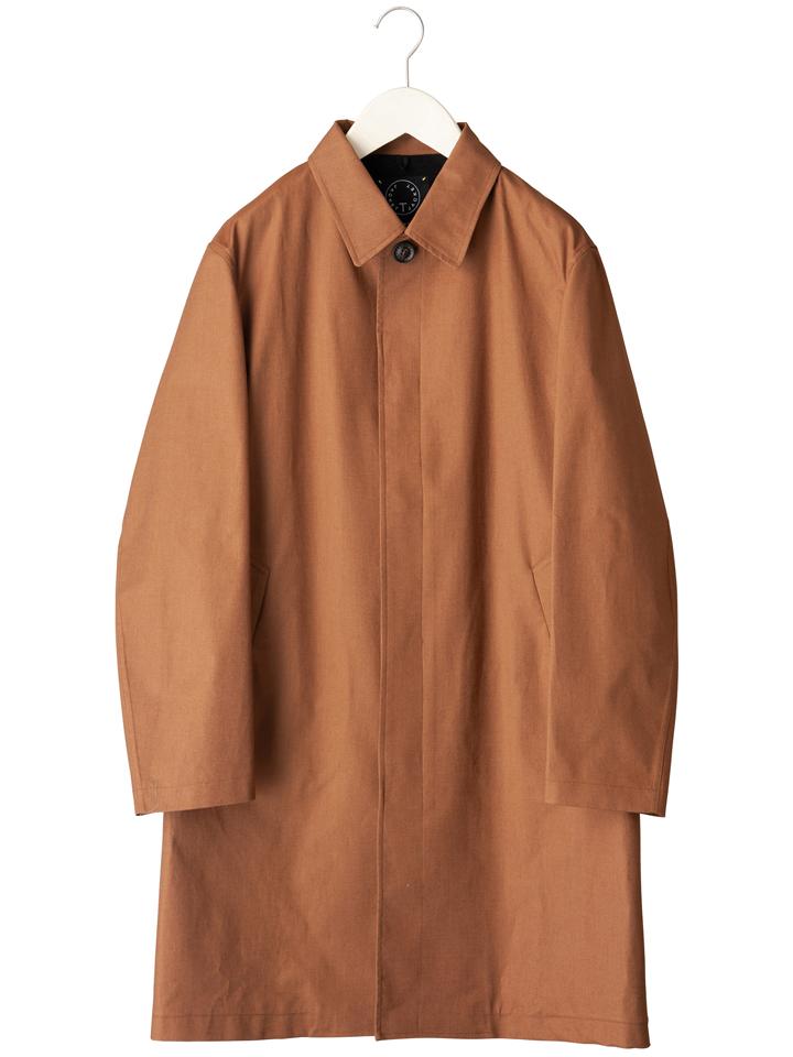 ティージャケット T-JACKET メンズ コットンナイロンステンカラーコート バルカラーコート BAOBAB 419-80101001-720