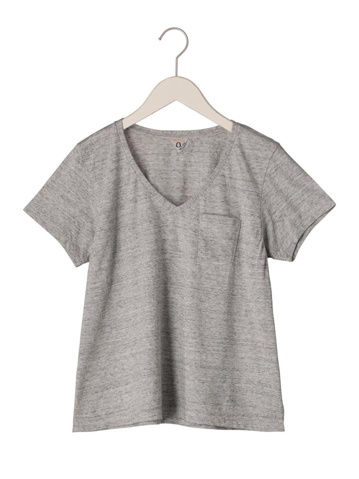 フィルメランジェ FilMelange レディース ローラ VネックTシャツ 1002001 LAURA